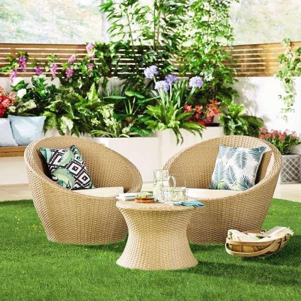 12 Amazing Rattan Garden Furniture Aldi Photos Container