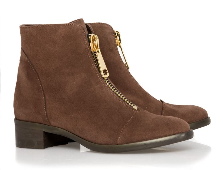 The Mia Brown suede
