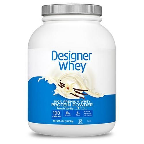 Designer Whey Protein Powder French Vanilla (1x4 Lbs)