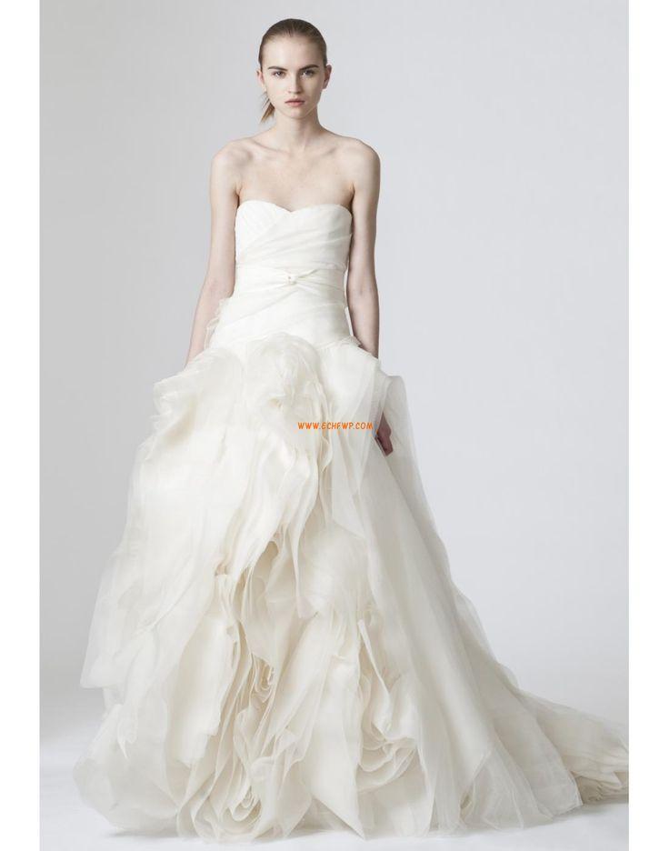 Coda a Strascico Corto Primavera 2014 Elegante Abiti Da Sposa 2014