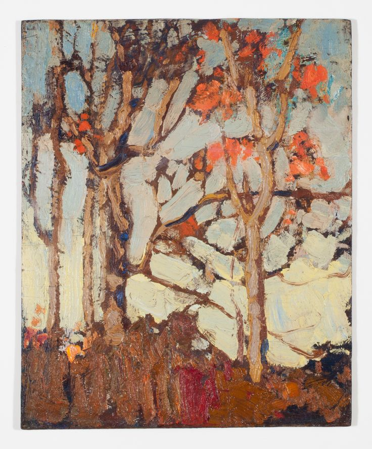 Tom Thomson Catalogue Raisonné | Late Autumn, Fall 1915 (1915.104) | Catalogue entry