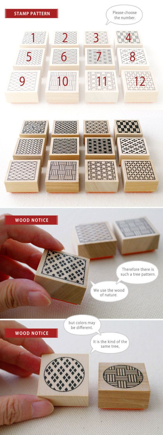 This product is original rubber stamp.There are 12 kinds of stamps of a traditional Japanese design (square form). + One piece measures + Wood size : approximately 34mm (length) x 34mm (width) x 15mm (height) The total height of rubber and wood : approximately 18mm + Quantity + 1 + Production + Made in Japan + Wood notice + We use the wood of nature. Therefore there is tree pattern. And we use the same type of wood, but colors may be different. And the illustration of the ink pad is…
