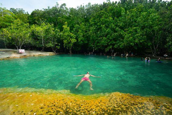 krabi emerald pool tour,