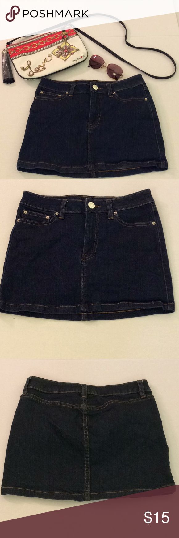 BDG Blue Mini Skirt Size 2 BDG MIni Skirt  Stated Size - 25  Dark Blue  98% Cotton, 2% Spandex  Front zipper and button   Approximate flat lay measurements in Inches:   Waist - 26  Front length - 12  Back length - 13  Pre-owned  Very good used condition  No signs of major wear - no holes, rips, or stains  Light fade around zipper  Reasonable offers welcomed!   Accessories on cover photo not included in this sale. They will be available soon.😊  No trades please.  Thank you for Poshing!👋😊🌺…