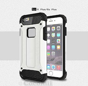 BEST iPhone 6S Plus / iPhone 6 Plus Case, Cocomii® [HEAVY DUTY] Commando Case *NEW* [ULTRA BONIC ARMOR] Premium Dustproof Shockproof Bumper - Full-body Rugged Hybrid Protective Cover Bumper Case for Apple iPhone 6S Plus/iPhone 6 Plus • Unique, rugged design with style and the utmost protection • Raised edge around the front lip for face-down protection • Extreme protection from drops and scratches • Unique, aesthetic dustproof design that adds beauty • 5% Off Coupon Code 6BXA7NOZ This Week…