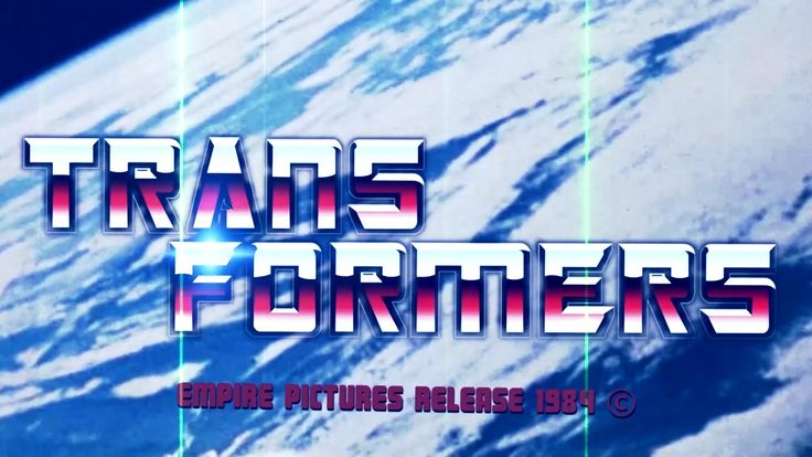 Transformers retro trailer 80s