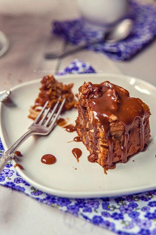 pieprz czy wanilia blog kulinarny: Ciasto marchwiowe z sosem toffi