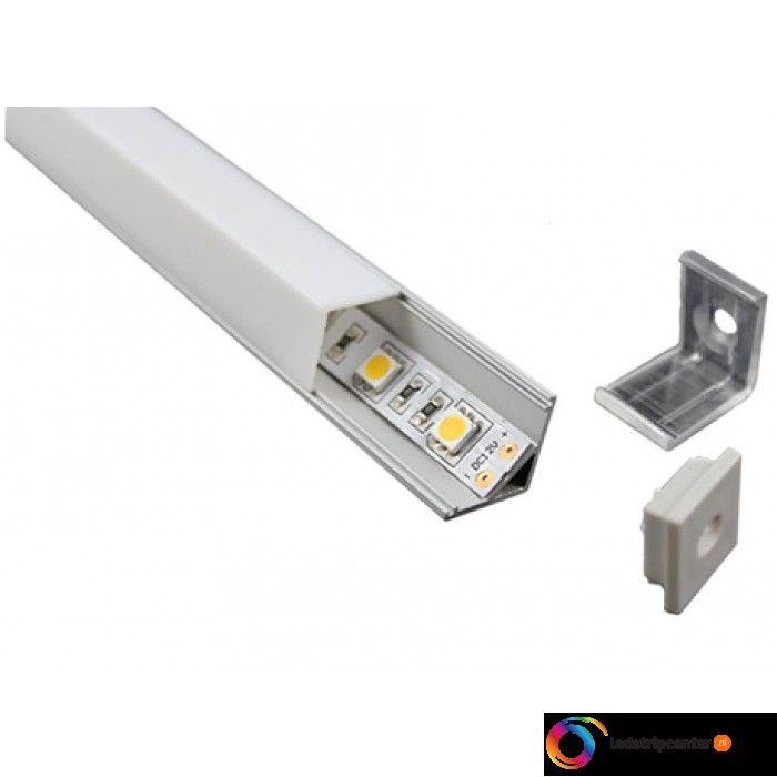 LED STRIPS Aluminium profiel square 1 meter