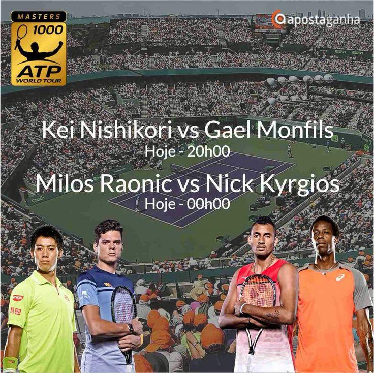 Confere os prognósticos para o ATP Miami...  http://www.apostaganha.com/2016/03/30/prognostico-apostas-kei-nishikori-vs-gael-monfils-miami-09999/  http://www.apostaganha.com/2016/03/31/prognostico-apostas-kei-nishikori-vs-gael-monfils-miami-1114/  http://www.apostaganha.com/2016/03/31/prognostico-apostas-kei-nishikori-vs-gael-monfils-miami-8/  http://www.apostaganha.com/2016/03/31/prognostico-apostas-kei-nishikori-vs-gael-monfils-miami-887…