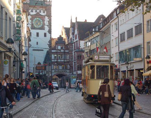 Freiburg im Breisgau! Beautiful city! Germany.