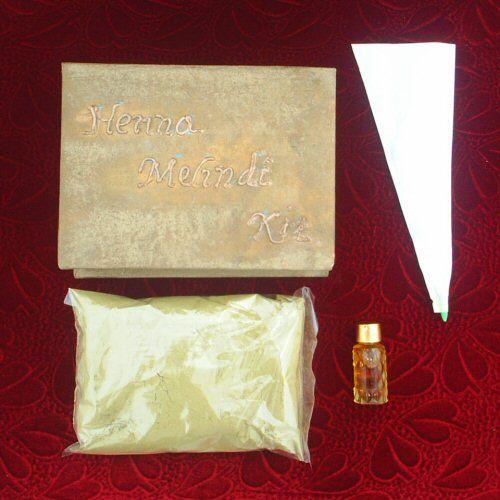 gold Henna tattoo kit (Powder)