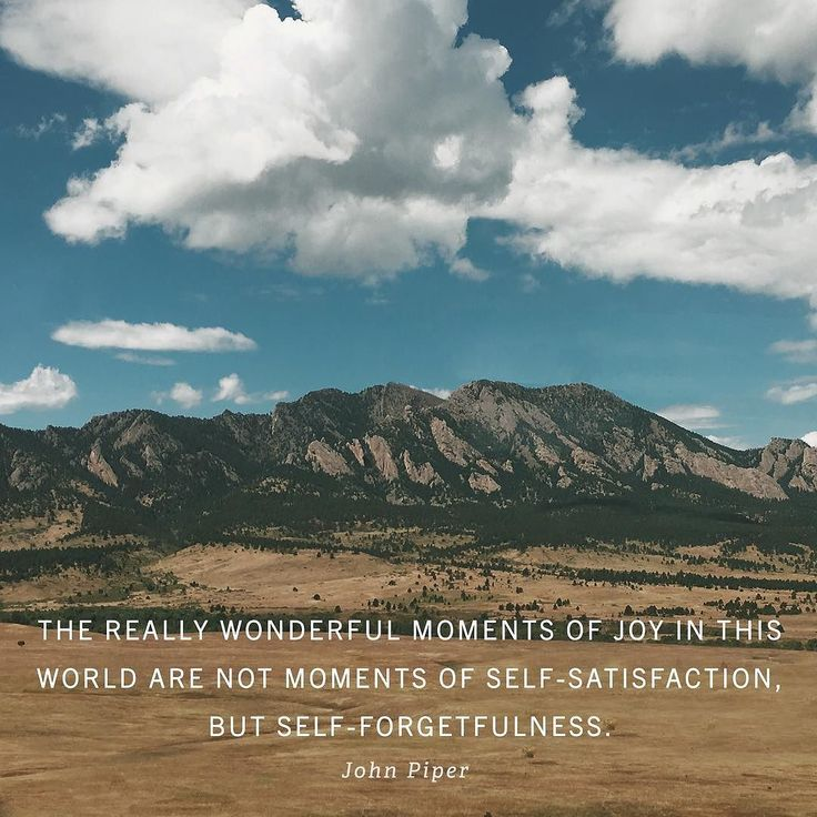 """Standing on the edge of the Grand Canyon and contemplating your own greatness is pathological. At such moments we are made for a magnificent joy that comes from outside ourselves."" Read more at desiringGod.org // Link in profile.  http://ift.tt/1uskVuP"