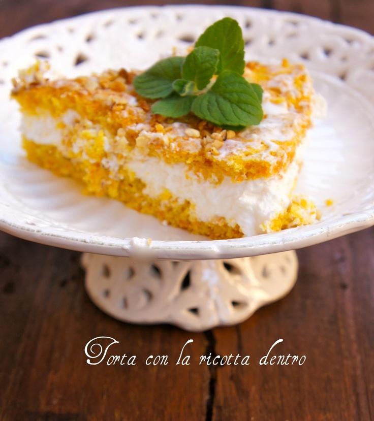 torta di ricotta e carote