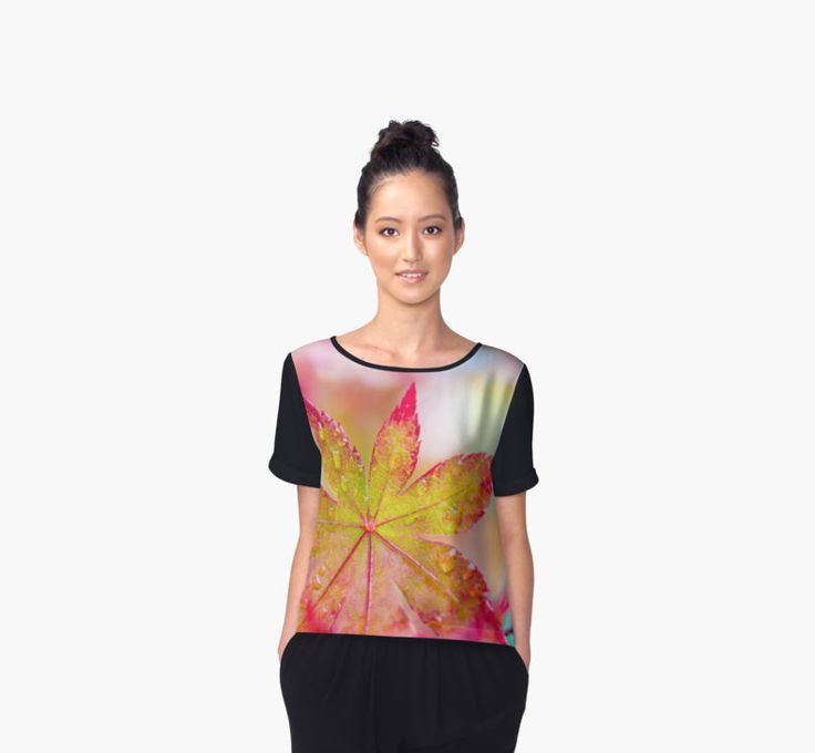 """""""Kaleidoscope"""" woman's top by Caitlyn Grasso."""