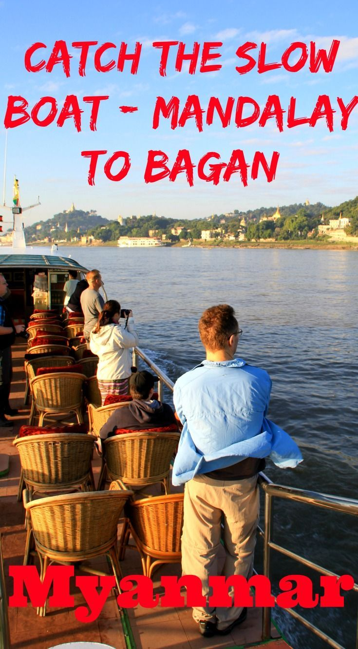 Catch the slow boat from Mandalay to Bagan (or the other way) in Myanmar and experience a relaxing day observing life beside the Ayeyarwady River. A highlight of my travels in Myanmar!