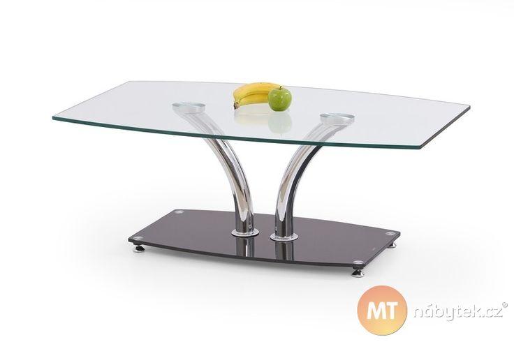 Skleněný konferenční stolek Kedron