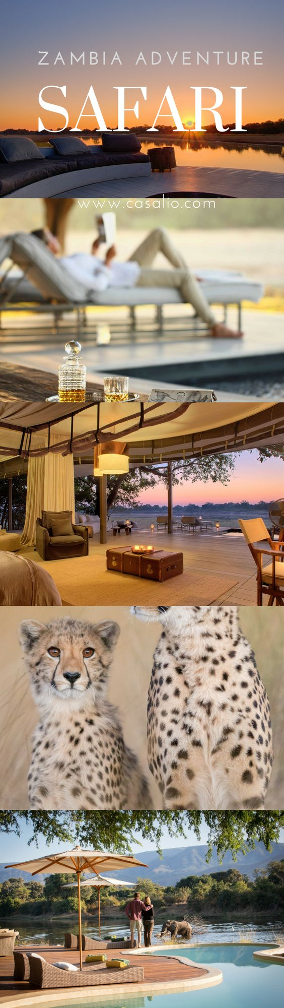Best Safari in Zambia. Experienced Travel Guides. Luxury Chalets. Superb Luxury Accommodation.