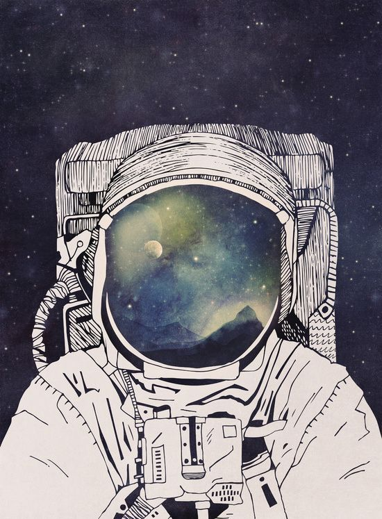 Dreaming Of Space Art Print by Tracie Andrews: