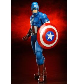 Marvel ARTFX Captain America (Avengers Now) 1/10  www.comicsuniverse.sk
