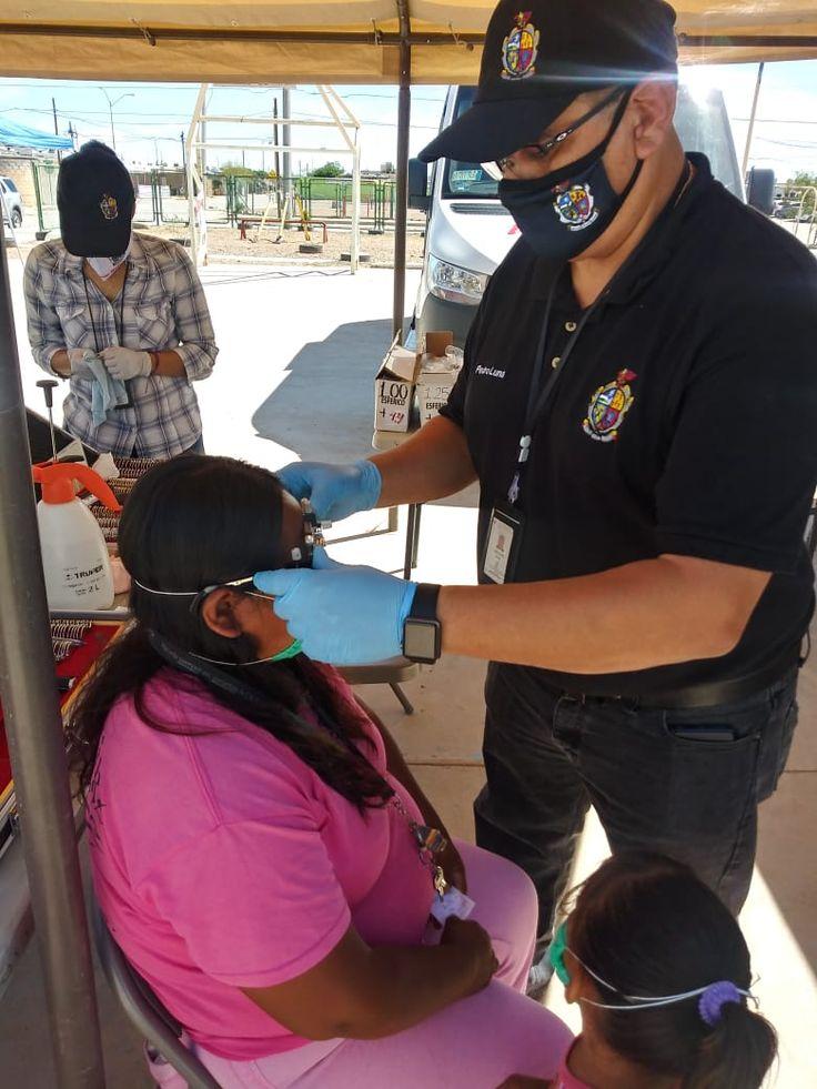 Juárez Unidades Médicas Móviles atienden a residentes