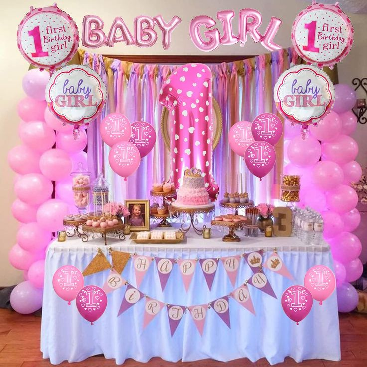 Cocodeko 1st birthday decoration inflatable helium foil