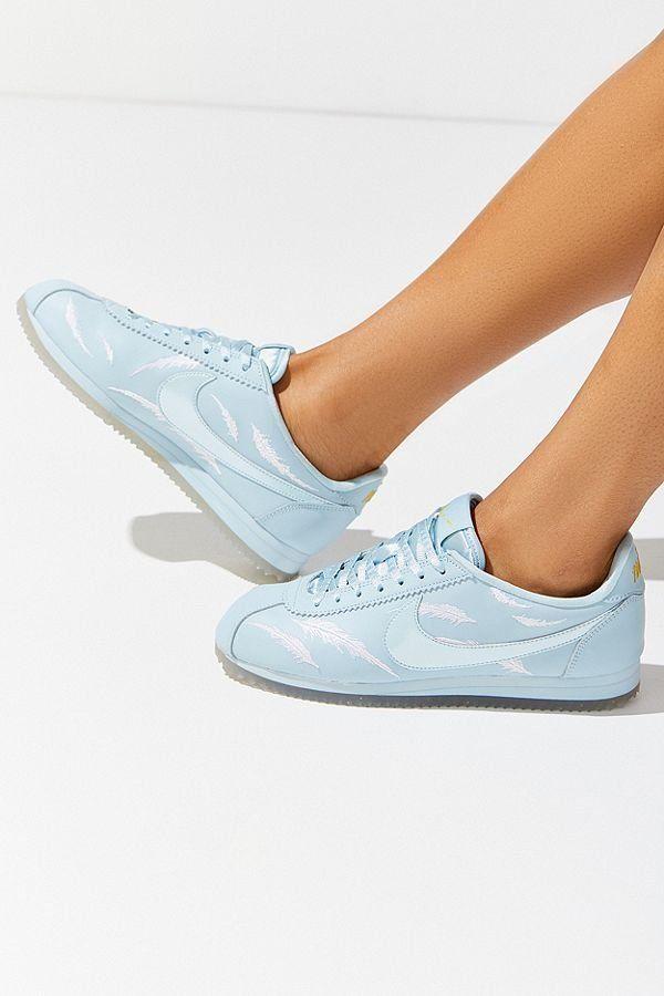 7edcfc87e3c2 Nike Classic Cortez Embroidered Sneaker