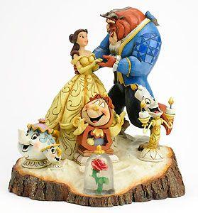 jim shore beauty and the beast | Jim Shore - Beauty and the Beast - Beauty and the Beast - Tale as Old ...