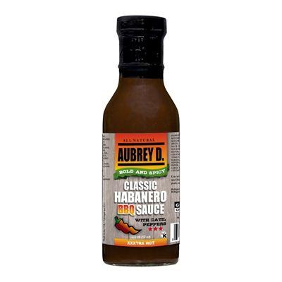 Aubrey D. 1 12-oz Habanero Marinade Sauce