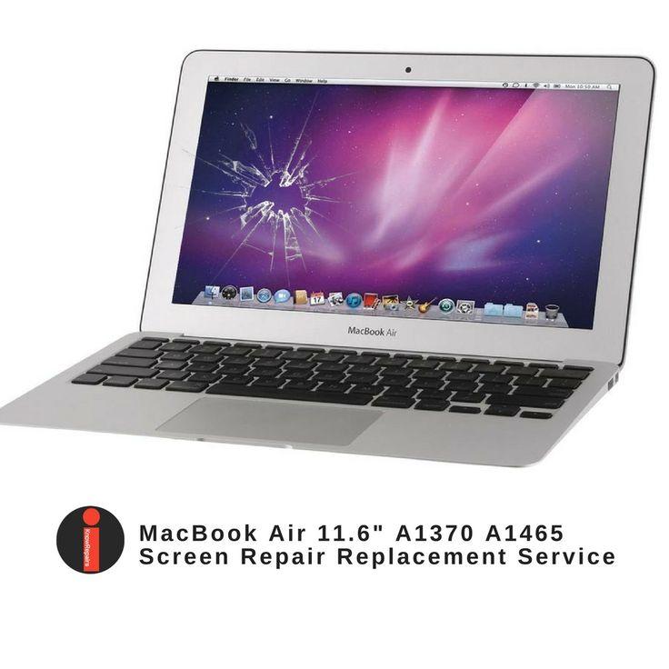 Apple macbook air 11 cracked broken lcd screen repair