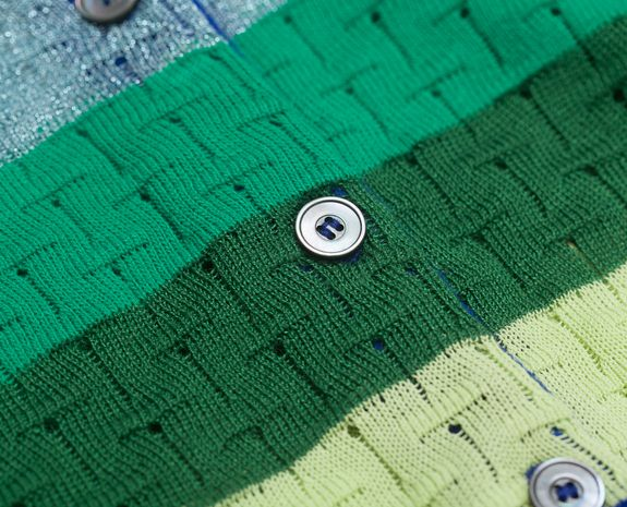Erotokritos Multicolor Striped Cardigan on sale at L'Exception