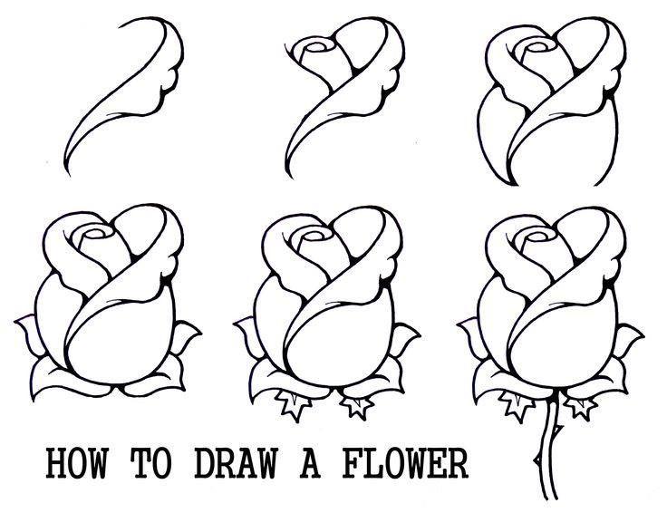 Cum sa desenezi o floare