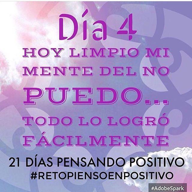 ¿Cuánto no intentamos, no logramos... por creer q no podemos?... SÍ PUEDO ☘❤️ #Día4 #retopiensopositivo #56 # @cony_peque @la_yoyo_qui @piensoenpositivo