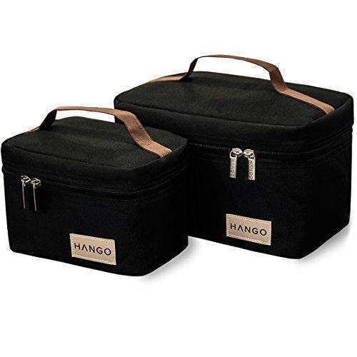 Hango Insulated Lunch Box Cooler Bag (Set of 2 Sizes), Black Attican http://www.amazon.com/dp/B00P2T2BN8/ref=cm_sw_r_pi_dp_c5wTvb1D0PDNT