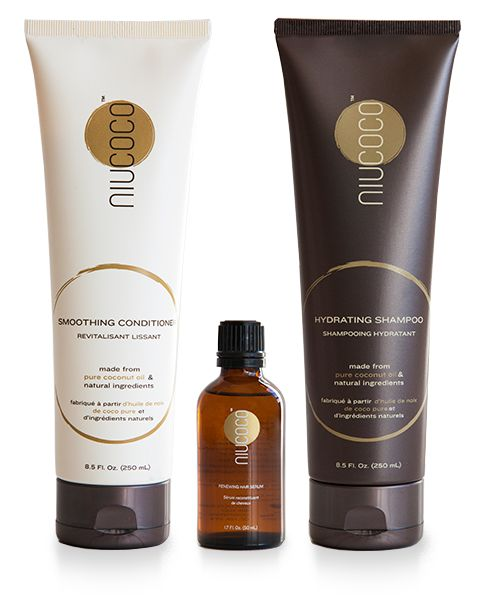 NIUCOCO Experience Package features the best of what we have to offer – Indulge with our luxurious hydrating shampoo (8.5 Fl. oz / 250mL), smoothing conditioner