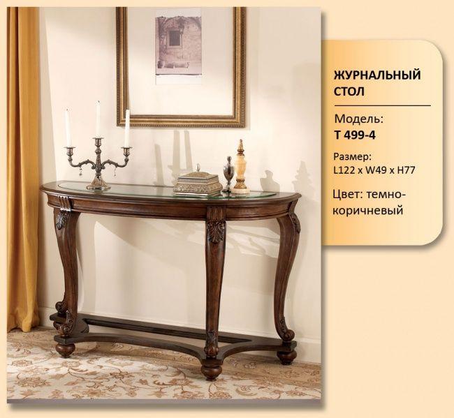 Консольный столик из раздела Столы чайные, консольные столики