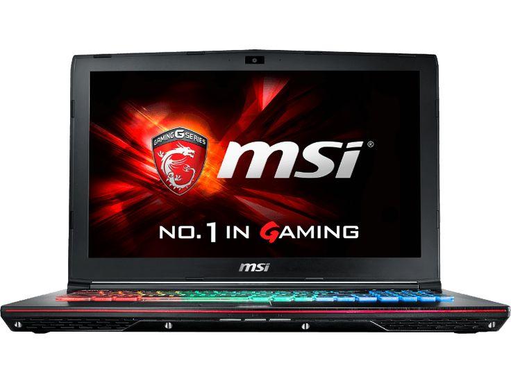 cool MSI PC portable gamer GE62 7RD Apache Intel Core i7-7700HQ (GE62 7RD-098BE) chez Media Markt