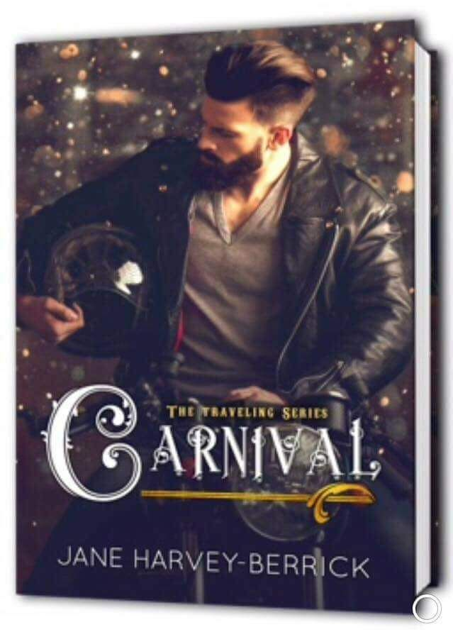 Jane Harvey-Berrick AuthorLive fast live hard keep moving.  Since leaving prison Zef has found his spiritual home in a traveling carnival. Until a crazy girl whos run away to join the circus crashes into his world.  FREE on KU! US http://amzn.to/2fTqcyt  UK http://amzn.to/2xWlMLE  World http://relinks.me/B0765BWQ24 Goodreads https://www.goodreads.com/book/show/36356766-carnival