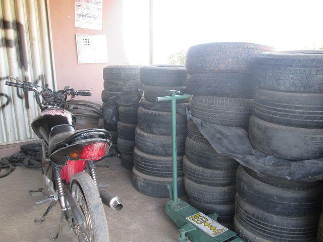 AGORA NEWS: Sua moto ou carro está com pneu furado? Venha para...