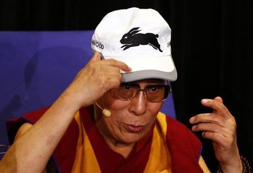 Rabbitohs supporter, the Dalai Lama.