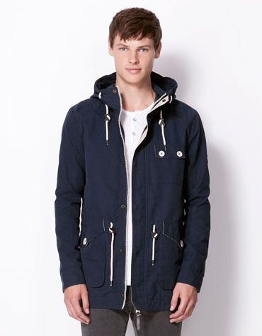 Bershka Turkey - Parka style nylon jacket