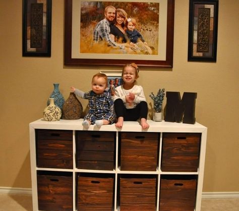 DIY Toy Storage and Wooden Crates | Wilker Do's  – all about Cole