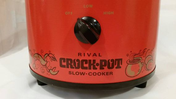 Hey, I found this really awesome Etsy listing at https://www.etsy.com/listing/259759179/vintage-rival-crockpot