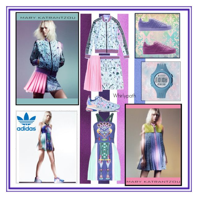 Mary Katrantzou for Adidas! by whirlypath on Polyvore featuring adidas and Mary Katrantzou