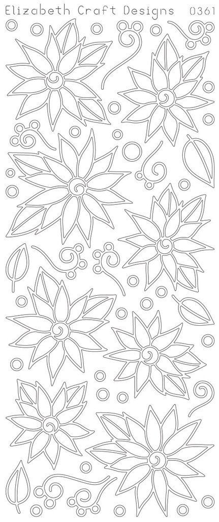 Elizabeth Craft Designs PeelOff Sticker 0361B  by PNWCrafts, $2.10