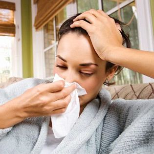 Colds and Flu During Pregnancy Coughing, sneezing, and a stuffy head that keeps you from breathing — you call this a minor illness?