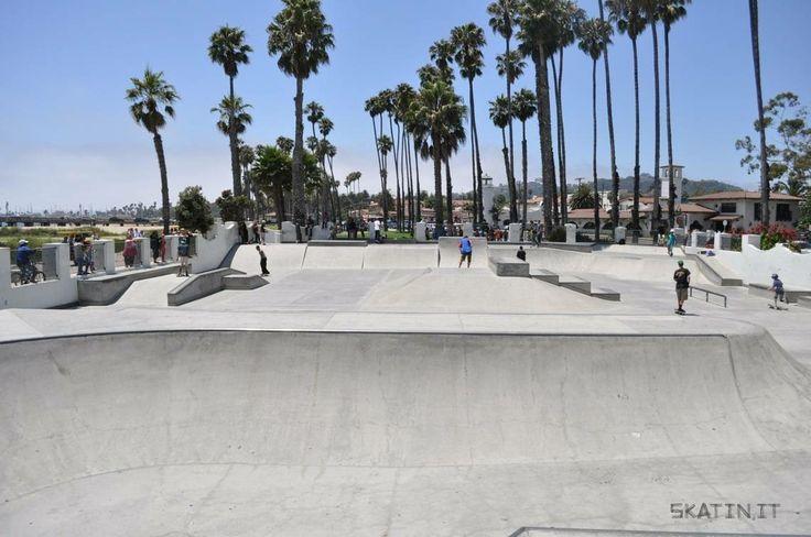 Santa Barbara Skatepark (California, USA) #skatepark #skate #skateboarding #skatinit #skateparkreview