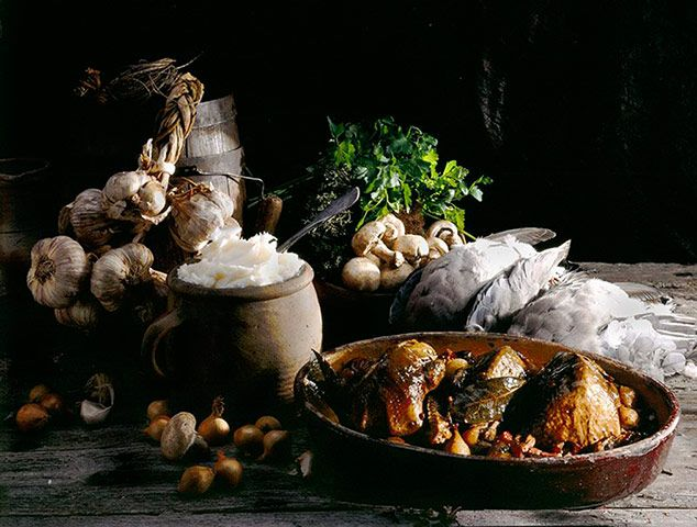 Credit: Caroline Martin StockFood food off the press: Caroline Martin (Germany) for roasted pigeons