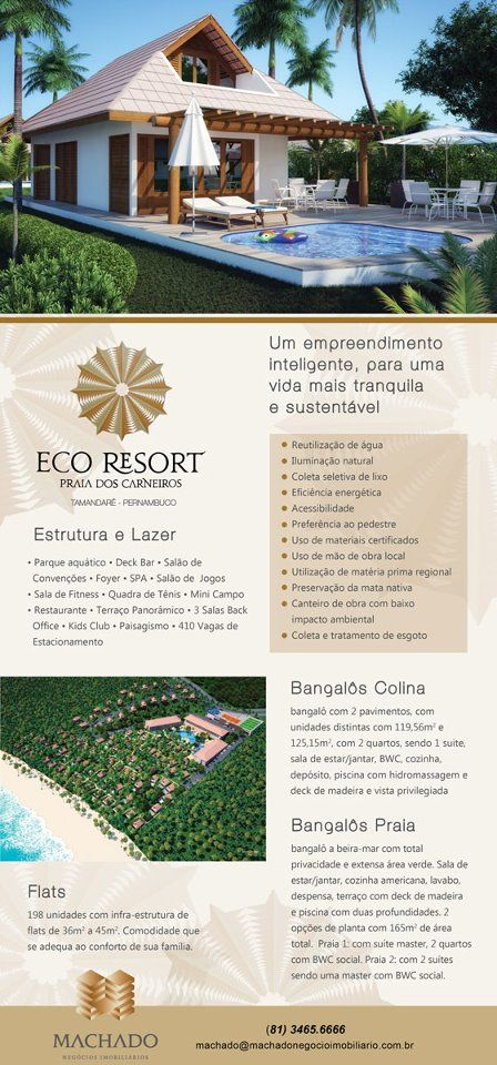 Anuncio Eco Resort Praia dos Carneiros
