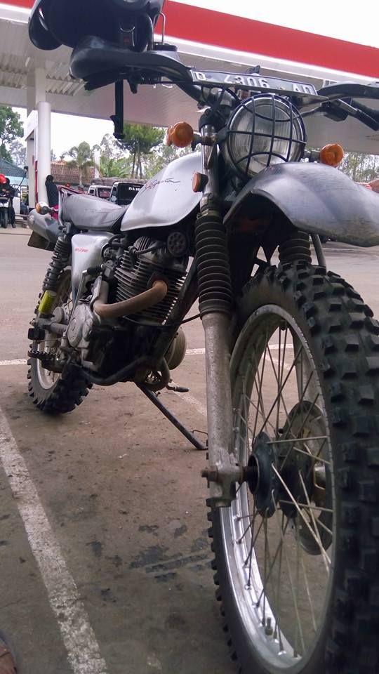 My Trip My Ngabuburit 266km #Tasik_Cipatujah_Pameungpeuk_Cikajang_Garut_Tasik #Honda #XL #Odong_odong #Trail