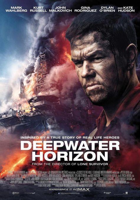 Horizonte profundo online (2016) Español latino descargar pelicula completa, Basado en los eventos sucedidos en el Golfo de México en abril del 2010, cuando un accidente en un o